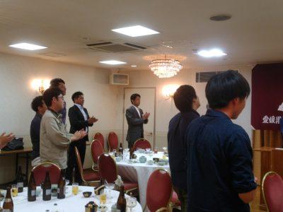 同窓会職域支部総会参加報告(コスモ松山石油支部総会)